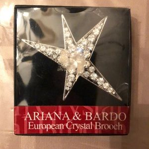 BRAND NEW Ariana & Bardo European Crystal Broach